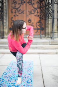 personal brand photography, content photography, yoga photography