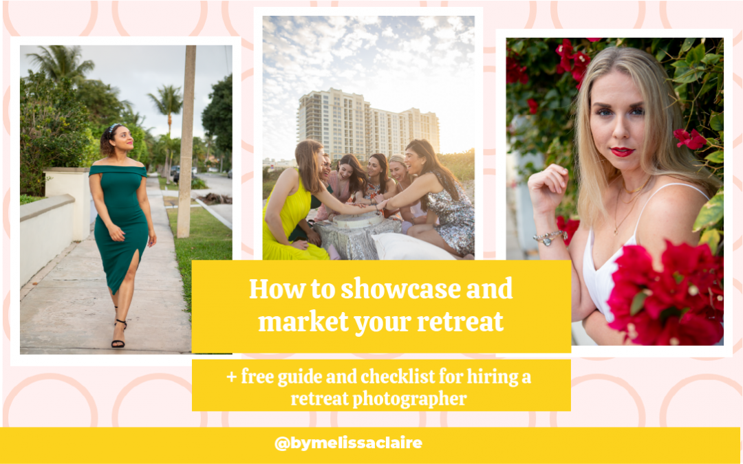 How to showcase and market your retreat