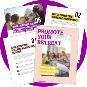Free download: Guide for hiring a retreat photographer